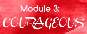 Module 3: COURAGEOUS